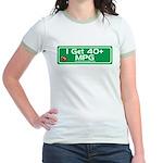 40 MPG Gear Jr. Ringer T-Shirt