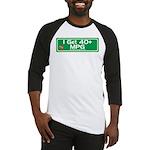 40 MPG Gear Baseball Jersey