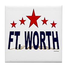 Ft. Worth Tile Coaster