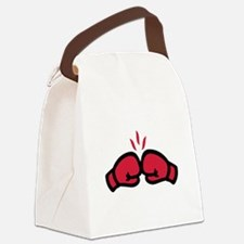 Boxing gloves punch Canvas Lunch Bag