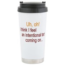 Intentional Tort Travel Mug