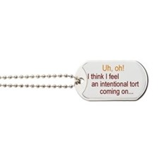 Intentional Tort Dog Tags