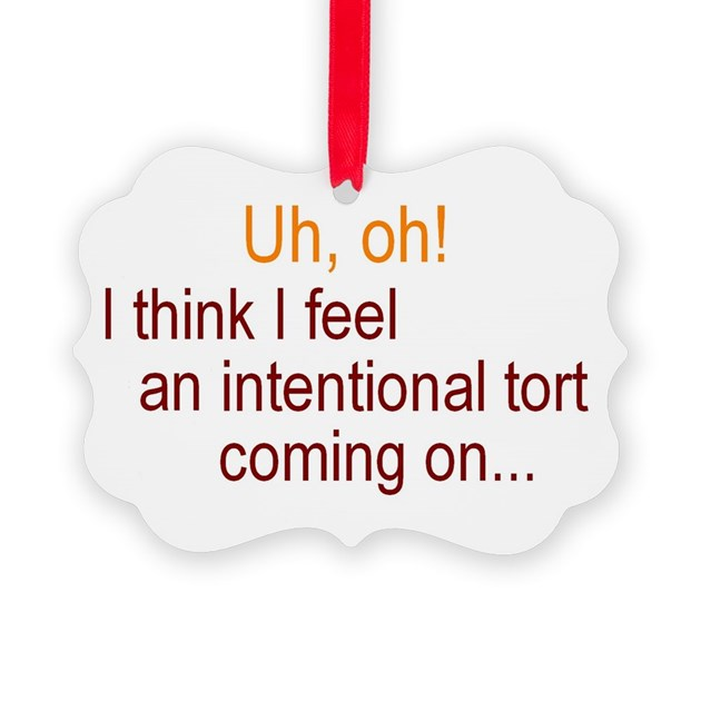 intentional tort Unintentional and intentional torts december 21, 2015 | athena ponce a tort is an injurious act (other than a breach of contract) for which a plaintiff may seek compensation and relief in the form of damages, or in some cases, an injunction.