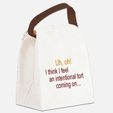 Intentional Tort Canvas Lunch Bag