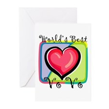 WB Grandma [Portuguese] Greeting Cards (Package of