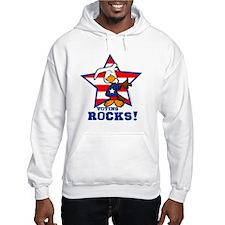 Voting Rocks Hoodie