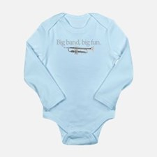 Big band big fun Long Sleeve Infant Bodysuit