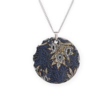 Floral Pattern by William Mo Necklace