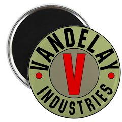 Retro Vandelay Industries Logo Magnet (10 pk)