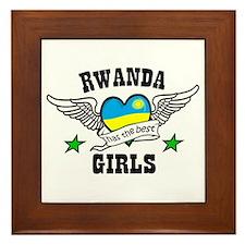 Rwanda has the best girls Framed Tile
