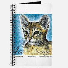 1994 Sweden Abyssinian Cat Postage Stamp Journal