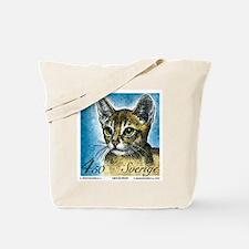 1994 Sweden Abyssinian Cat Postage Stamp Tote Bag