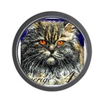 1994 Sweden Persian Cat Postage Stamp Wall Clock