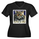 1994 Sweden Persian Cat Postage Stamp Plus Size T-