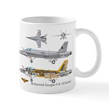 F/A-18 Hornet VFA-37 Ragin Bulls Mug