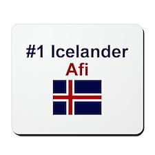 Iceland #1 Afi Mousepad