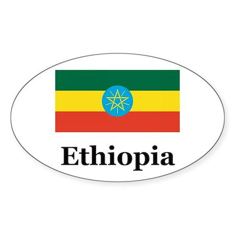 Ethiopia Rectangle Sticker