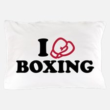 I love boxing gloves Pillow Case