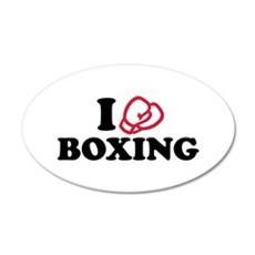 I love boxing gloves Wall Decal
