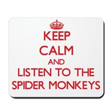 Keep calm and listen to the Spider Monkeys Mousepa