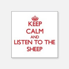 Keep calm and listen to the Sheep Sticker