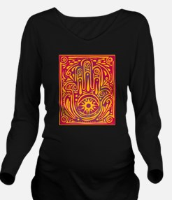 Passion and Magic Long Sleeve Maternity T-Shirt