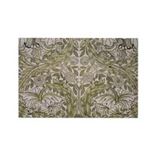 Floral Pattern by William Morris Rectangle Magnet