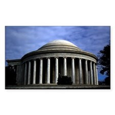Jefferson Memorial 2 Decal