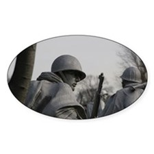 Korean War Veteran Memorial Decal