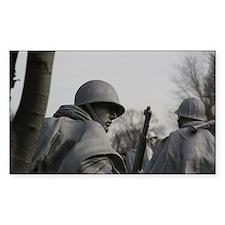 Korean War Veteran Memorial Decal