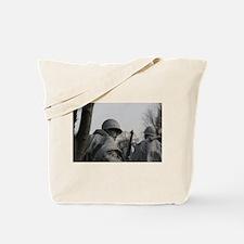 Korean War Veteran Memorial Tote Bag