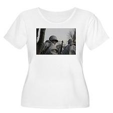 Korean War Veteran Memorial Plus Size T-Shirt
