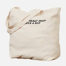 Cute Don%27t give shit Tote Bag