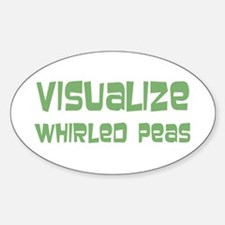 Whirled Peas Decal