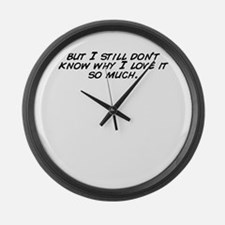 So much know Large Wall Clock
