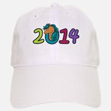 Cute Horse 2014 Year Baseball Baseball Cap