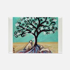 Wheaten Terriers Tree of Life Magnets