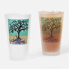 Wheaten Terriers Tree of Life Drinking Glass