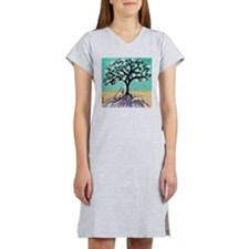 Wheaten Terriers Tree of Life Women's Nightshirt
