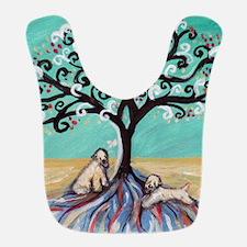 Wheaten Terriers Tree of Life Bib