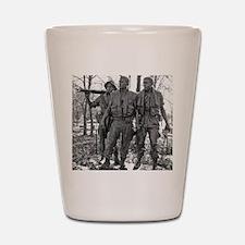 Vietnam Mens Memorial Shot Glass