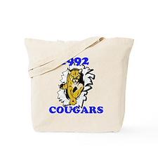 1992 Cougars Tote Bag