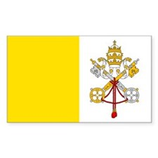 Vatican City Flag Decal
