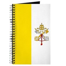 Vatican City Flag Journal