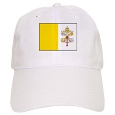 Vatican City Flag Baseball Cap