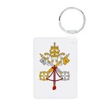 Vatican City Flag Keychains