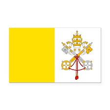 Vatican City Flag Rectangle Car Magnet