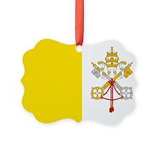 Vatican City Flag Ornament