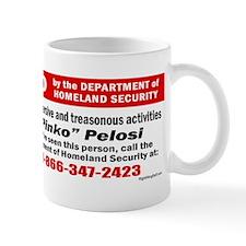 WANTED: Pinko Pelosi Mug