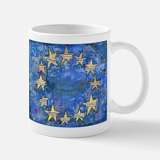 European Union Harmony EU FLAG Mugs